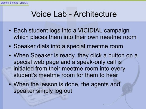 VICIDIAL Voice Lab - Summ