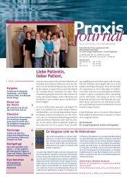 Ausgabe 15 / 2010 - Onkologische Schwerpunktpraxis Darmstadt