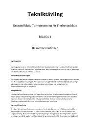 152 kB 28 October, 2013 Bilaga 4 Rekommendationer - BeBostad.se