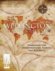 Wellington Laboratories Catalogue 2012-2014
