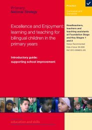 Excellence and Enjoyment: learning and teaching for ... - NALDIC