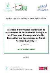 Annexes 5 et 6 - DREAL Haute-Normandie