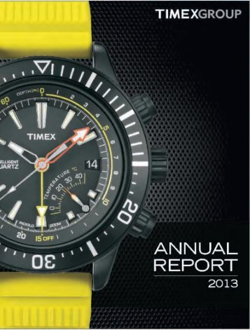Annual Report-FY 2012-13 - Timex Group India