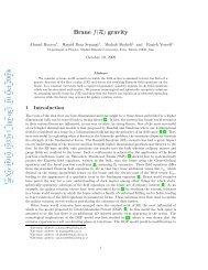 arXiv:0910.1933v1 [gr-qc] 10 Oct 2009