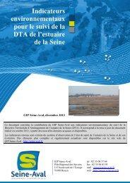 Indicateurs environnementaux pour le suivi de la DTA