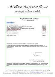 Septembre2011 - Miellerie Auguste et Fils Apiculteurs - Marche-en ...