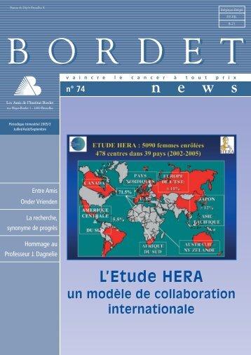 format .pdf - Institut Jules Bordet Instituut