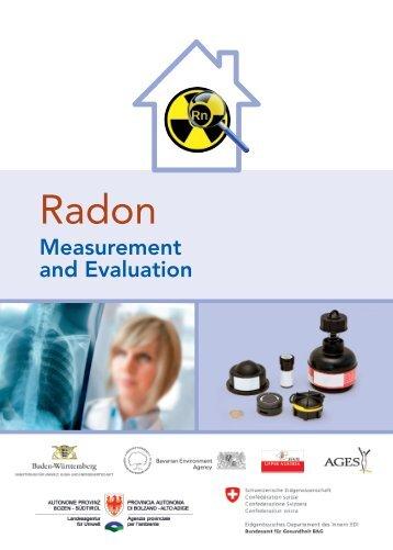 Radon - Measurement and Evaluation - Joint Research Centre