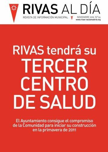 Rivas Al Día Nº 94 Noviembre 2010-pdf - Ayuntamiento Rivas ...