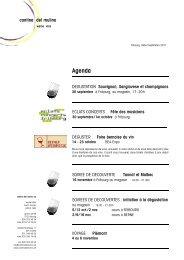 plus de détails - Cantina del Mulino