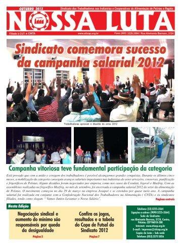 jornal alimentaçao outubro.P65 - Sindicato dos Trabalhadores nas ...