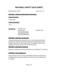 1011 MSDS.pdf - Venture Tape