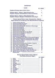 Senarai Agensi Sektor Awam, Kementerian, Jabatan, Badan