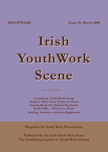 Issue 55: March 2008 - Youth Work Ireland