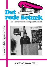www .militarypolice.dk