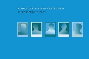 Jahresbericht Christoffelschule 2007