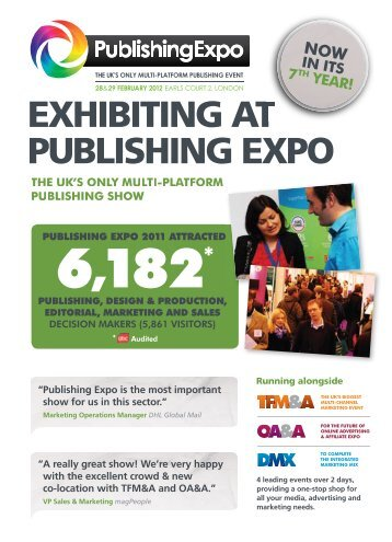 Why exhibiting at Publishing Expo is key to your marketing strategy