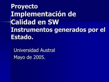 Proyecto - Universidad Austral