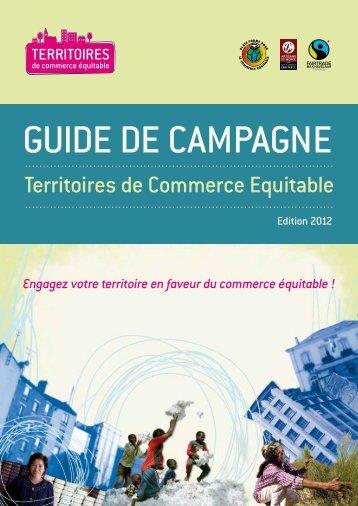 Guide de campagne - la Plate-Forme pour le Commerce Équitable