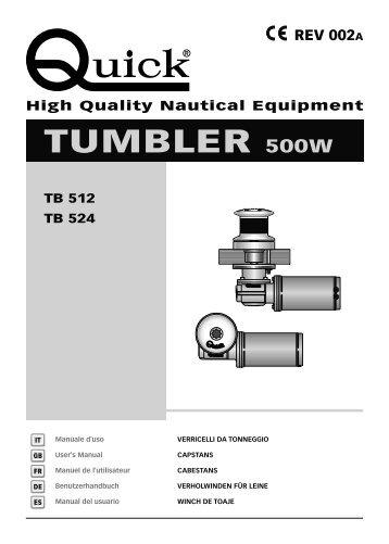 TUMBLER 500W - Quick® SpA