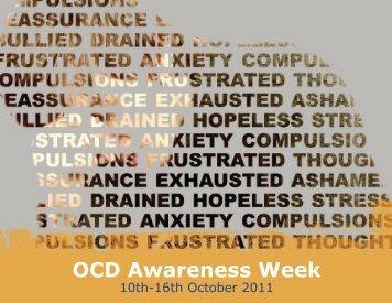 OCD Awareness Week - OCD-UK