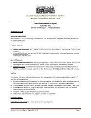 Executive Directors Report 9 2013 - Charles Village Community ...