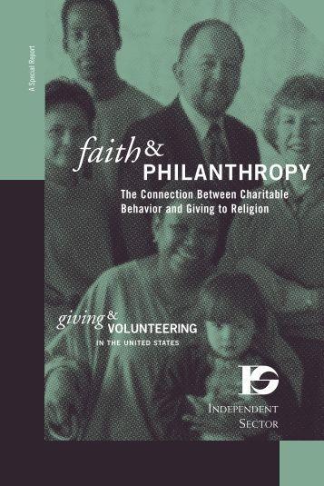 Faith & Philanthropy - PreciousHeart.net