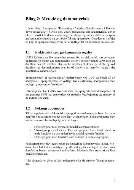 Bilag 2 - Center for Alternativ Samfundsanalyse