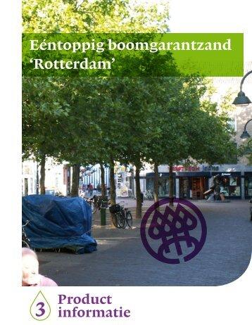 Eéntoppig boomgarantzand 'Rotterdam' (pdf) - Nationale Bomenbank