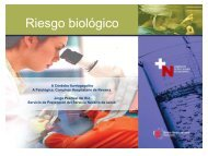 Riesgo biológico en el servicio de Anatomía Patológica: ¿real o ...