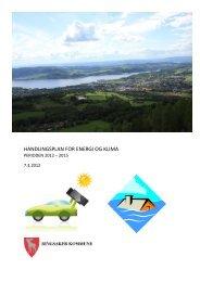 HANDLINGSPLAN FOR ENERGI OG KLIMA - Ringsaker kommune