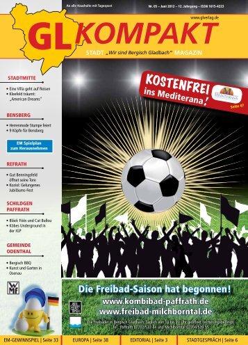 Wer spielt am 13. Juni 2012 gegen Deutschland? - GL VERLAGS ...