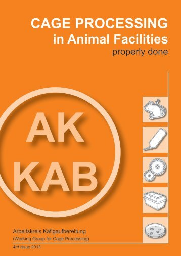 CAGE PROCESSING in Animal Facilities - GV-SOLAS