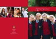 Senior School - The Queen's School
