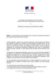 Le Délégué interministériel à la communication Directeur du ... - FSE