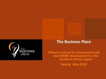 The Business Place Botswana - GlobeWomen