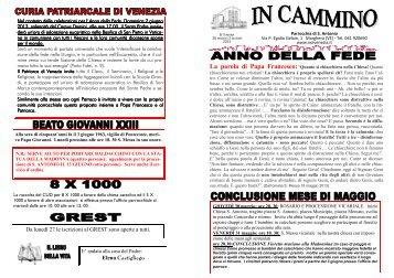 25 master 26 maggio 2 giugno 2013.pub - Noivenezia.it