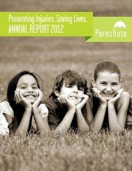 AnnuAL RePoRt 2012 - Parachute
