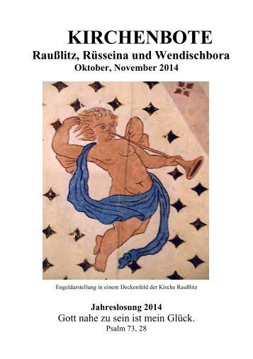 Kirchenbote 2014 Okt-Nov