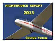 MAINTENANCE REPORT George Young