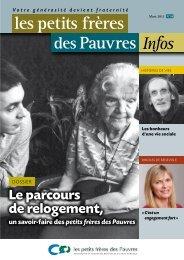 Les petits frères des Pauvres infos N°24 : 1er trimestre 2012