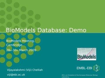 Outline - BioModels.net