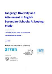 Language Diversity and Attainment in English Secondary Schools: A ...