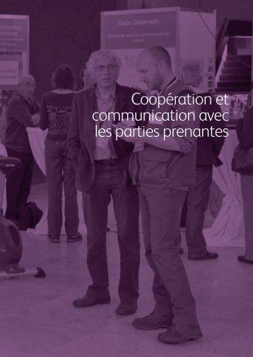Coopération et communication avec les parties ... - Biodiversity Skills