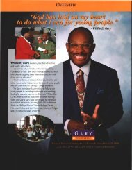 Scholarship Information - The Gary Law Group