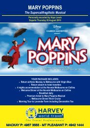 BROCHURE Mary Poppins Muscial FULL COLOUR