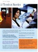 B'R.ET - Institut Jules Bordet Instituut - Page 5