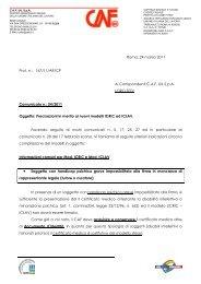 Roma, 24 marzo 2011 Prot. n.: 167/11/AR/CP Ai ... - uil varese