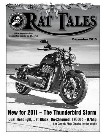 December 2010 - Triumph Riders Association of Portland