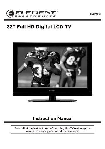 instruction manual 32 u201d 16 9 lcd tv md 30112 medion rh yumpu com Element 32 Inch Element 23 Class LED HDTV